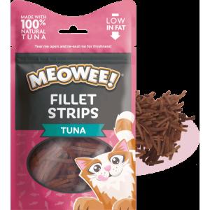 Meowee! Fillet Strips Tuna