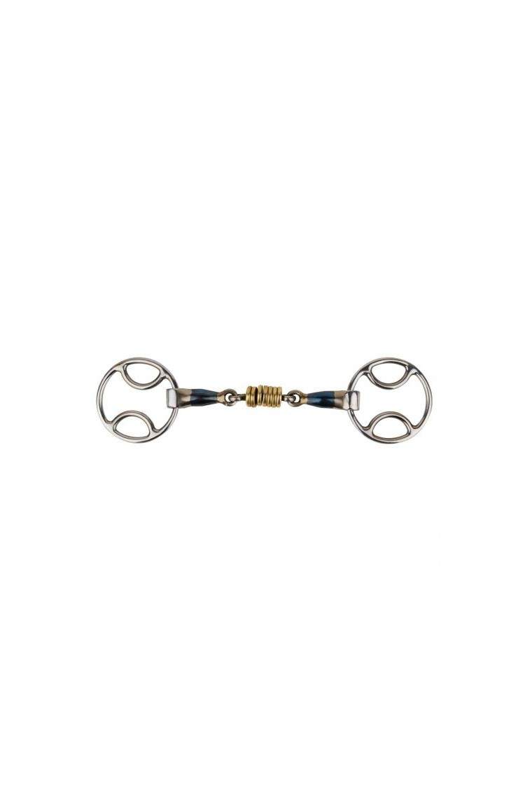 IKONIC BLUE STEEL SPECIAL RING SNAFFLE
