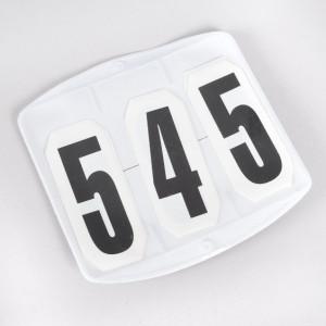 Globus tävlingsnummer, fyrkantig
