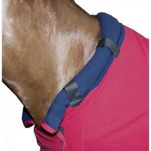 HKM Fleecetäcke med halsdel -Hickstead-