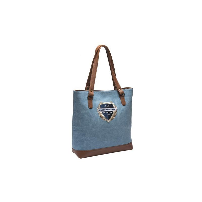 Horse Comfort Premium Väska Jeans Canvas & Läder