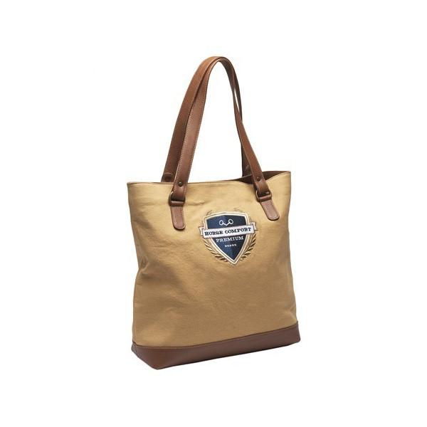Horse Comfort Premium Väska Konjak Canvas & Läder