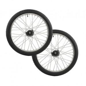 Finn-Tack Speedcart Wheel Lux, Stainless