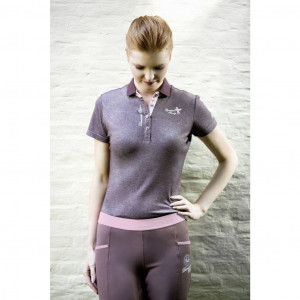 HKM Poloshirt -Diamonds Milky-