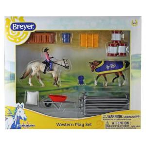 Breyer Western Play Set